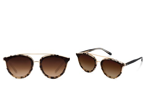 Krewe Women's Clio 24K Gradient Aviator Sunglasses, 63mm - Bloomingdale's_2