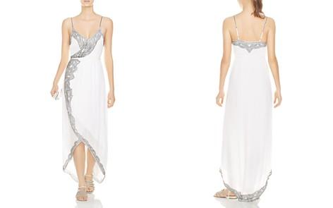 Haute Hippie Soleil Beaded Faux-Wrap Maxi Dress - Bloomingdale's_2