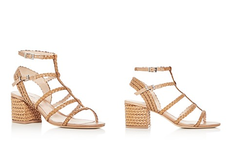 SCHUTZ Women's Clarcie Woven Block Heel Sandals - Bloomingdale's_2
