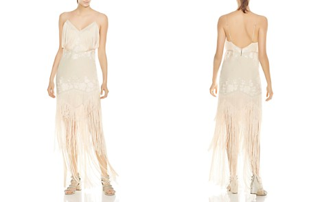 Haute Hippie Grandeur Fringed Embroidered Gown - Bloomingdale's_2