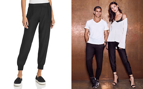 ATM Anthony Thomas Melillo Silk Jogger Pants - Bloomingdale's_2