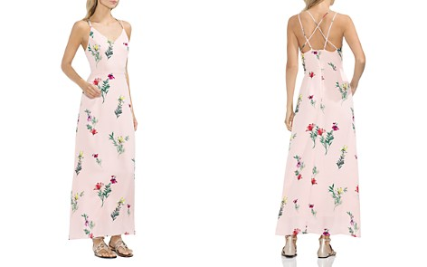 VINCE CAMUTO Tropical Garden Strappy Maxi Dress - Bloomingdale's_2