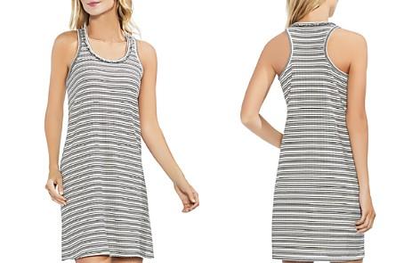 VINCE CAMUTO Fringe Stripe Ribbed Tank Dress - Bloomingdale's_2
