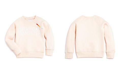 Spiritual Gangster Girls' Rainbow-Trimmed Sweatshirt - Little Kid - Bloomingdale's_2