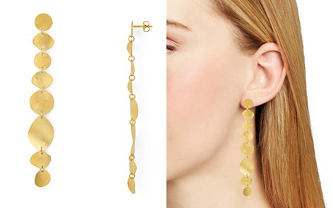 Chan Luu Wavy Disc Linear Drop Earrings - Bloomingdale's_2
