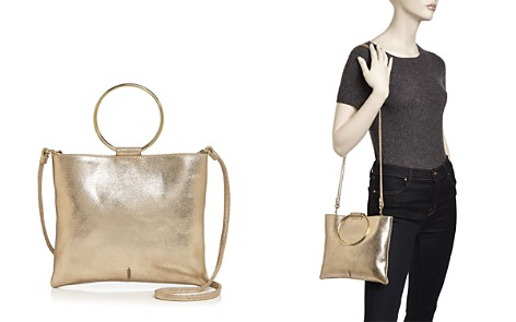 Thacker Le Pouch Metallic Leather Crossbody - Bloomingdale's_2