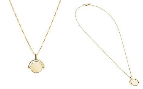 "Shinola 14K Yellow Gold Small Rotating Pendant Necklace, 18"" - Bloomingdale's_2"