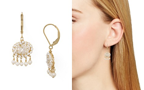 Dana Kellin Organic Freshwater Pearl & Crystal Chandelier Earrings - Bloomingdale's_2