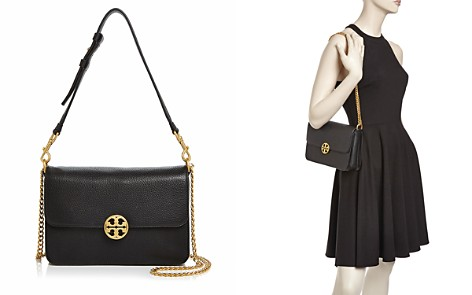 Tory Burch Chelsea Leather Convertible Shoulder Bag - Bloomingdale's_2
