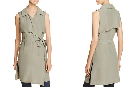 Bagatelle Draped Duster Vest - Bloomingdale's_2