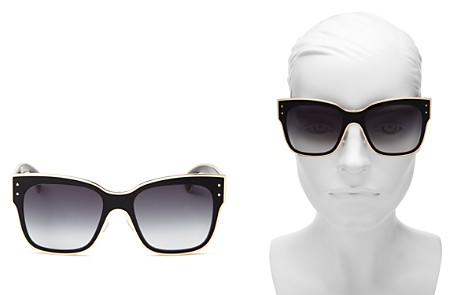 Moschino Women's 000 Gradient Square Sunglasses, 55mm - Bloomingdale's_2