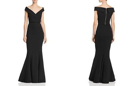Bariano Jewel 2-Piece Off-The-Shoulder Crepe Gown - Bloomingdale's_2