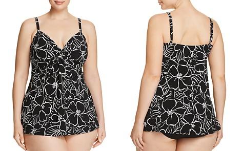 Miraclesuit Plus Savannah Roswell Tankini Top & Solid Basic Bikini Bottom - Bloomingdale's_2