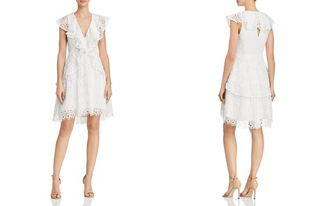 Elliatt Interlude Ruffled Lace Dress - Bloomingdale's_2