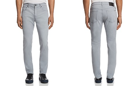 7 For All Mankind Adrien Slim Fit Jeans in Mid Gray - Bloomingdale's_2