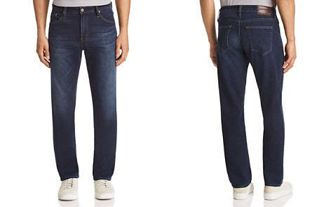 AG The Ives Athletic Straight Fit Jeans in Covet - Bloomingdale's_2