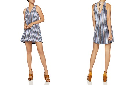 BCBGeneration Striped Tent Dress - Bloomingdale's_2