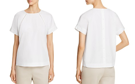Donna Karan New York Button-Back Top - Bloomingdale's_2