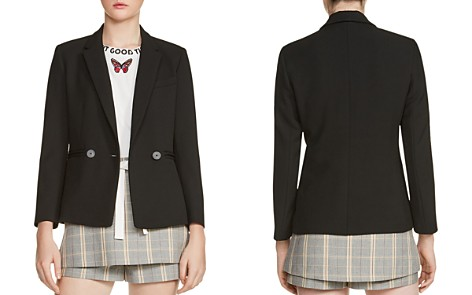 Maje Valmy Double-Breasted Blazer - Bloomingdale's_2