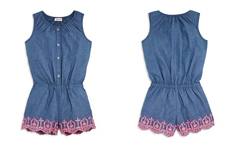 Design History Girls' Chambray Romper - Little Kid - Bloomingdale's_2