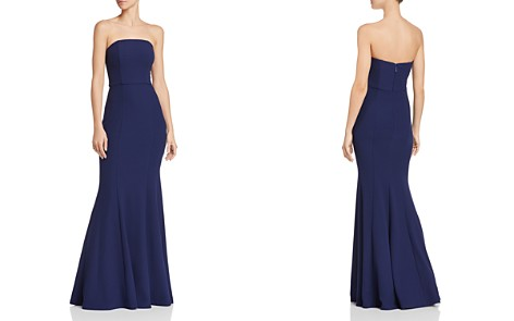 Bariano Moonstone Convertible Strapless Crepe Mermaid Gown - Bloomingdale's_2