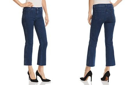 J Brand Selena Mid Rise Crop Bootcut Jeans in Caspian - Bloomingdale's_2