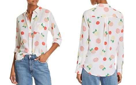 Rails Kate Citrus Print Silk Shirt - Bloomingdale's_2