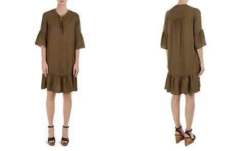 Gerard Darel Davia Flounced Shift Dress - Bloomingdale's_2
