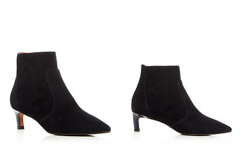 Aquatalia Women's Weatherproof Suede Kitten-Heel Booties - Bloomingdale's_2