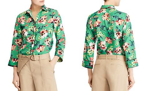 Lauren Ralph Lauren Tropical Floral Print Shirt - Bloomingdale's_2