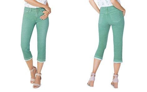 NYDJ Petites Released-Hem Capri Jeans in Cactus - Bloomingdale's_2
