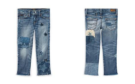 Polo Ralph Lauren Girls' Star Patchwork Jeans - Little Kid - Bloomingdale's_2