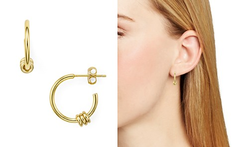 Argento Vivo Links Small Hoop Earrings - Bloomingdale's_2