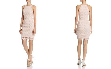 AQUA Scalloped Lace Body-Con Dress - 100% Exclusive - Bloomingdale's_2