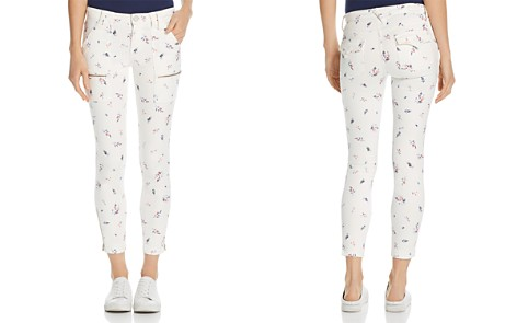 Joie Park Floral-Print Skinny Pants - Bloomingdale's_2