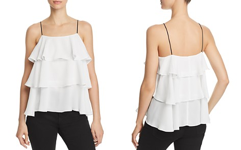 AQUA Tiered Camisole - 100% Exclusive - Bloomingdale's_2