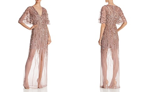 Aidan Mattox Embellished Illusion Gown - Bloomingdale's_2
