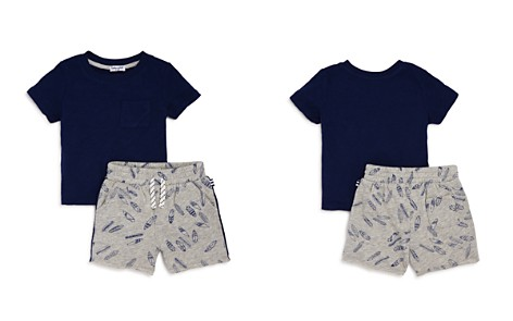 Splendid Boys' Pocket Tee & Surfboard-Print French Terry Shorts Set - Baby - Bloomingdale's_2