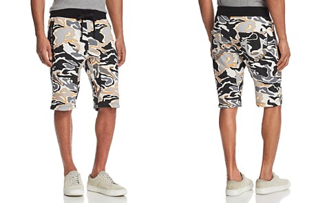 True Religion Camouflage Print Sweat Shorts - Bloomingdale's_2
