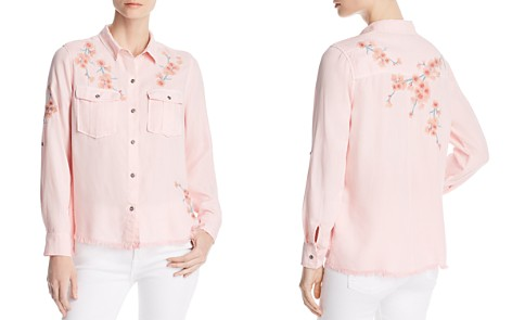 Billy T Embroidered Button-Down Top - Bloomingdale's_2