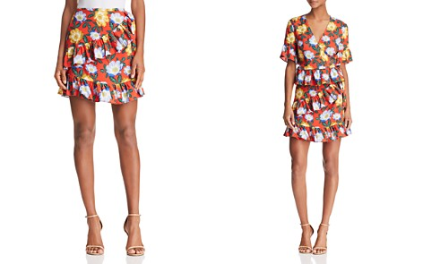 The Fifth Label Reunion Floral Wrap Mini Skirt - Bloomingdale's_2