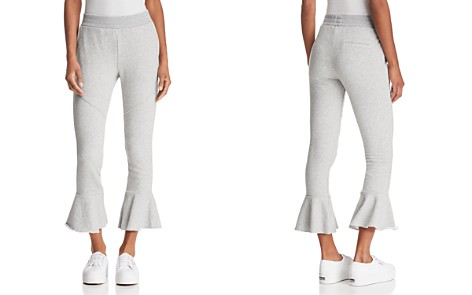 Generation Love Veronica Cropped Flared Sweatpants - Bloomingdale's_2