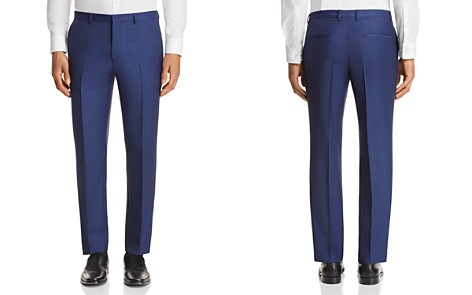 HUGO Hets Slim Fit Sharkskin Suit Pants - 100% Exclusive - Bloomingdale's_2