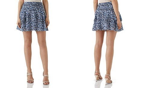 REISS Brisa Floral Mini Skirt - Bloomingdale's_2