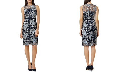 HOBBS LONDON Everly Embroidered Sheath Dress - Bloomingdale's_2