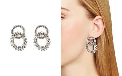 Dannijo Truby Silver Earrings - Bloomingdale's_2