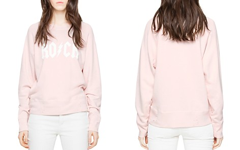 Zadig & Voltaire Distressed Graphic Sweatshirt - Bloomingdale's_2