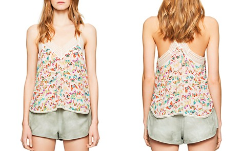 Zadig & Voltaire Christy Butterfly Camisole Top - Bloomingdale's_2