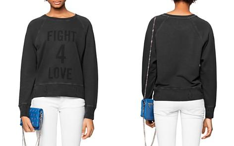 Zadig & Voltaire Distressed Graphic Sweatshirt - Bloomingdale's_2