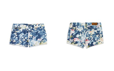 Polo Ralph Lauren Girls' Floral-Print Denim Shorts - Big Kid - Bloomingdale's_2